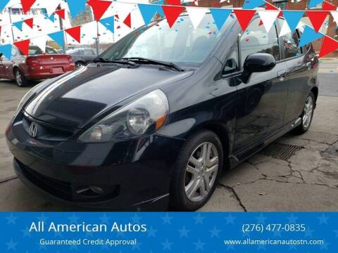 2008 Honda Fit for sale at All American Autos in Kingsport TN