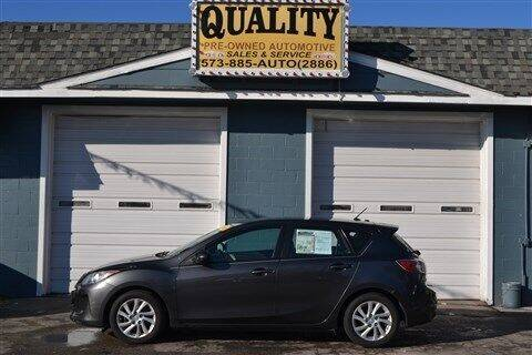 2012 Mazda MAZDA3 for sale at Quality Pre-Owned Automotive in Cuba MO
