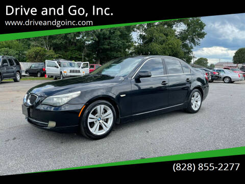 2010 BMW 5 Series for sale at Drive and Go, Inc. in Hickory NC