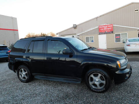 2008 Chevrolet TrailBlazer for sale at Macrocar Sales Inc in Akron OH