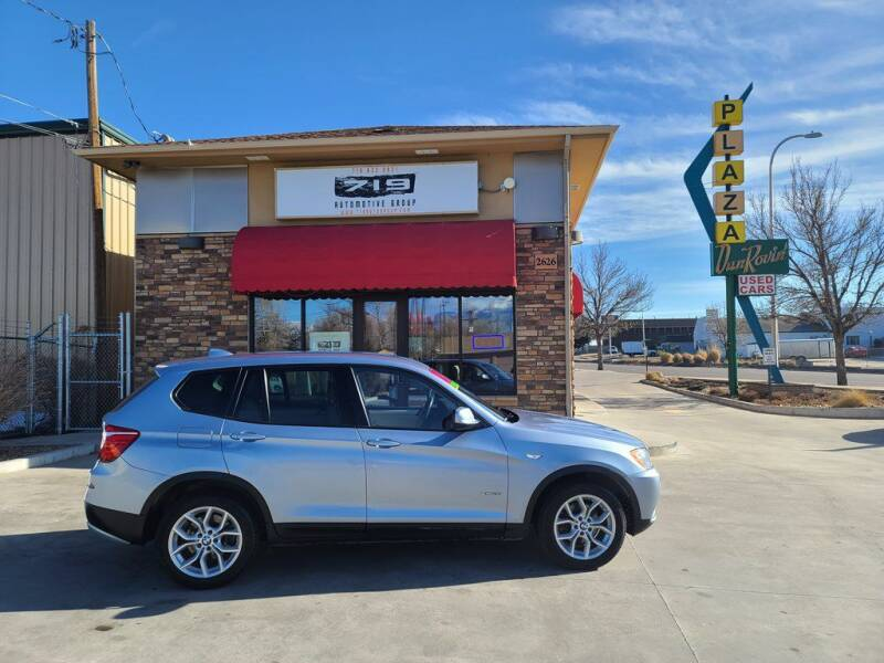 2013 BMW X3 for sale at 719 Automotive Group in Colorado Springs CO
