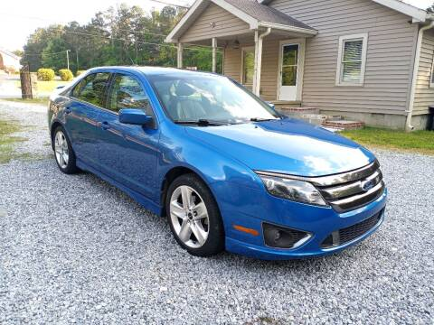 2012 Ford Fusion for sale at Don Roberts Auto Sales in Lawrenceville GA