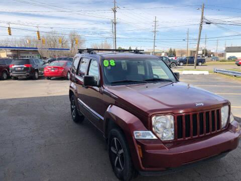 2008 Jeep Liberty for sale at Drive Max Auto Sales in Warren MI