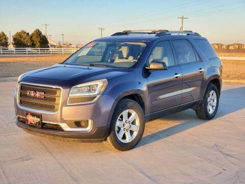 2013 GMC Acadia for sale at Chihuahua Auto Sales in Perryton TX