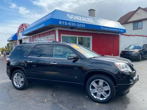 2010 GMC Acadia for sale at Gonzalez Auto Sales in Joliet IL