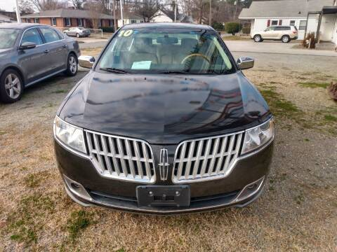 2010 Lincoln MKZ for sale at Kinston Auto Mart in Kinston NC