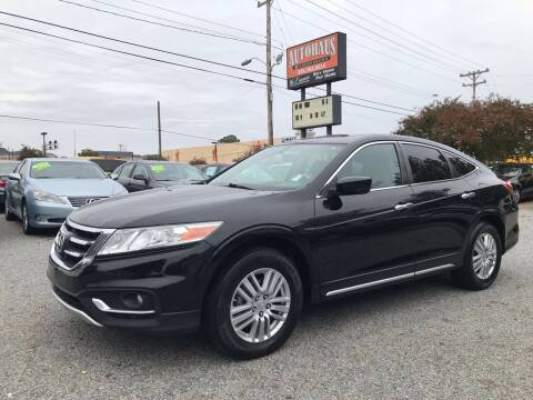 2013 Honda Crosstour for sale at Autohaus of Greensboro in Greensboro NC