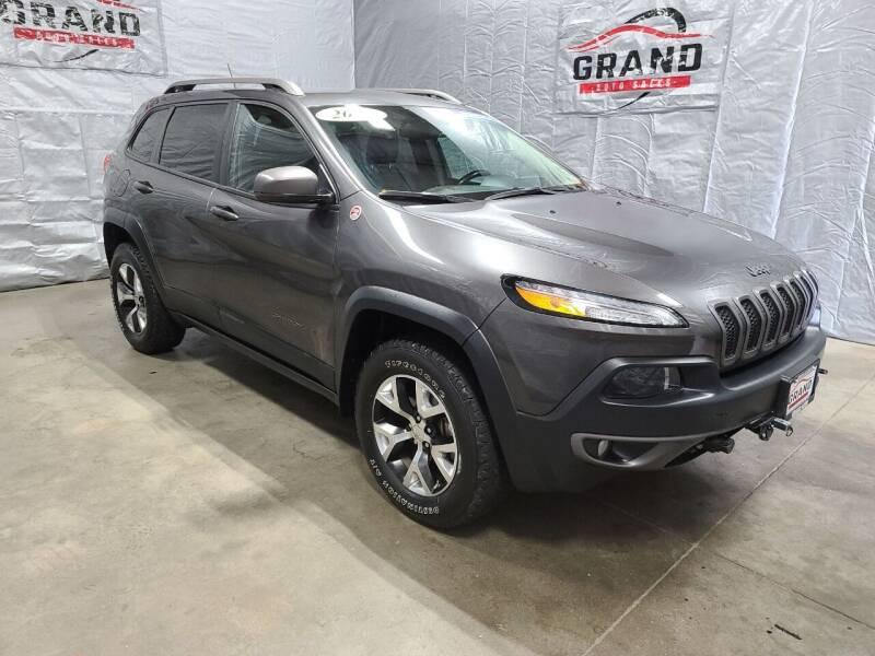 2015 Jeep Cherokee for sale at GRAND AUTO SALES in Grand Island NE