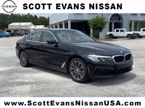2020 BMW 5 Series for sale at Scott Evans Nissan in Carrollton GA
