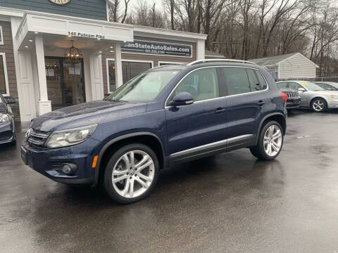 2013 Volkswagen Tiguan for sale at Ocean State Auto Sales in Johnston RI