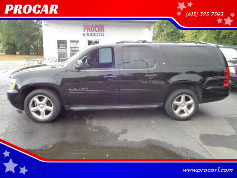 2012 Chevrolet Suburban for sale at PROCAR in Portland TN