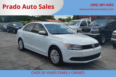 2014 Volkswagen Jetta for sale at Prado Auto Sales in Miami FL