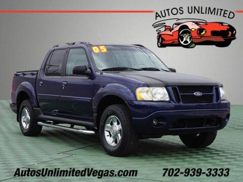 2005 Ford Explorer Sport Trac for sale at Autos Unlimited in Las Vegas NV