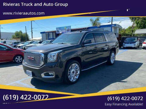 2015 GMC Yukon XL for sale at Rivieras Truck and Auto Group in Chula Vista CA