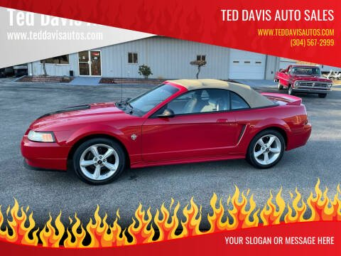 1999 Ford Mustang for sale at Ted Davis Auto Sales in Riverton WV