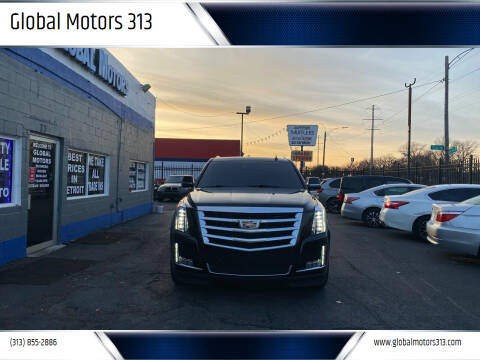 2016 Cadillac Escalade for sale at Global Motors 313 in Detroit MI