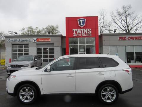 2015 Mitsubishi Outlander for sale at Twins Auto Sales Inc in Detroit MI