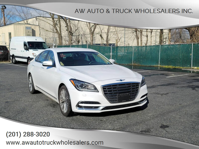 2018 Genesis G80 for sale at AW Auto & Truck Wholesalers  Inc. in Hasbrouck Heights NJ