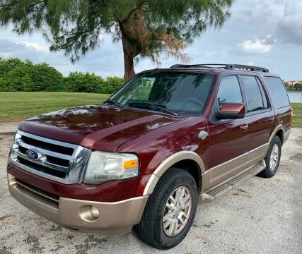 2012 Ford Expedition for sale at Naber Auto Trading in Hollywood FL