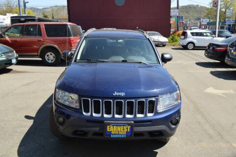 2012 Jeep Compass for sale at Earnest Auto Sales in Roseburg OR