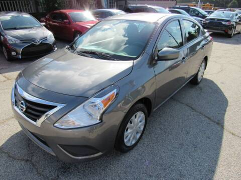 2017 Nissan Versa for sale at King of Auto in Stone Mountain GA