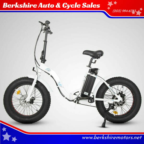 2021 Berkshire 500W Step Thru Fat tire for sale at Berkshire Auto & Cycle Sales in Sandy Hook CT