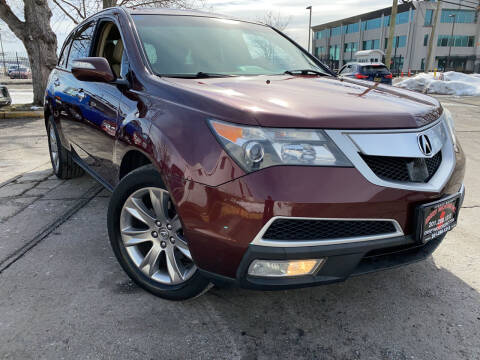 2012 Acura MDX for sale at JerseyMotorsInc.com in Teterboro NJ