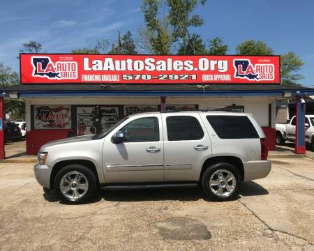 2009 Chevrolet Tahoe for sale at LA Auto Sales in Monroe LA