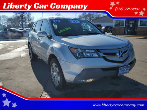 2009 Acura MDX for sale at Liberty Car Company in Waterloo IA