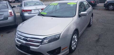 2010 Ford Fusion for sale at TC Auto Repair and Sales Inc in Abington MA