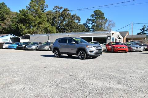 2017 Jeep Compass for sale at Barrett Auto Sales in North Augusta SC