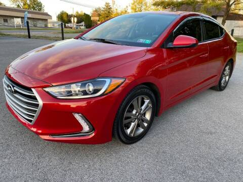 2017 Hyundai Elantra for sale at M4 Motorsports in Kutztown PA