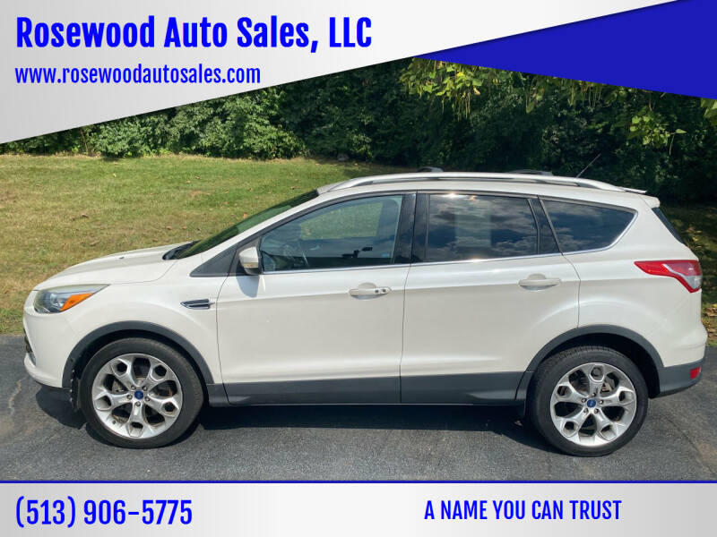 2013 Ford Escape for sale at Rosewood Auto Sales, LLC in Hamilton OH