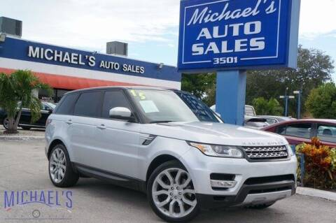 2015 Land Rover Range Rover Sport for sale at Michael's Auto Sales Corp in Hollywood FL