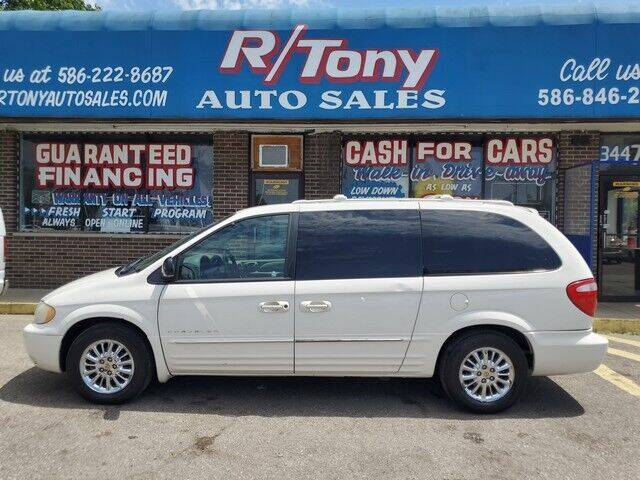 2001 Chrysler Town and Country for sale at R Tony Auto Sales in Clinton Township MI