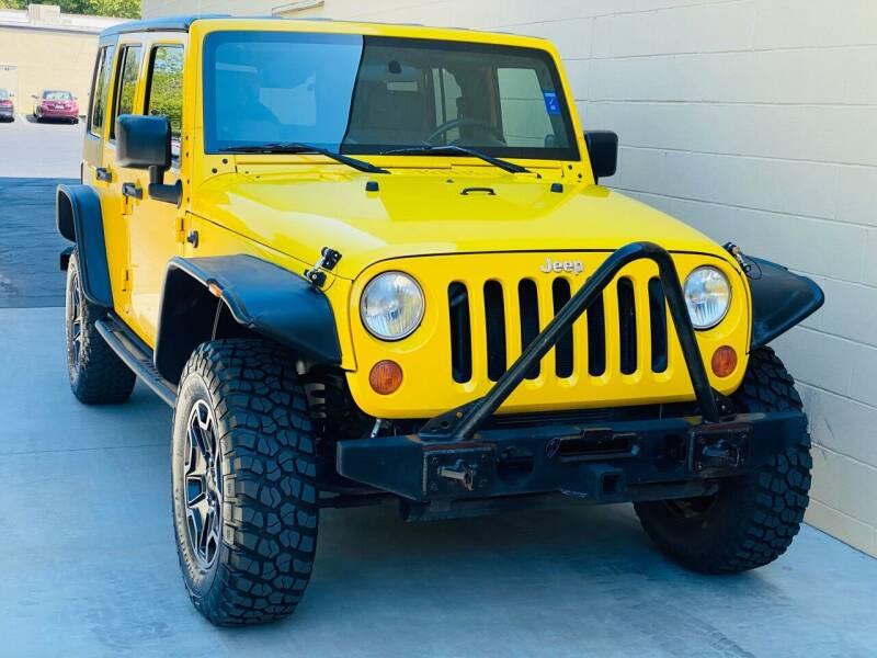 2008 Jeep Wrangler Unlimited for sale at Auto Zoom 916 Rancho Cordova in Rancho Cordova CA