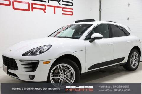 2016 Porsche Macan for sale at Fishers Imports in Fishers IN
