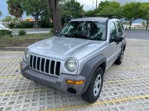 2003 Jeep Liberty for sale at Florida Prestige Collection in Saint Petersburg FL