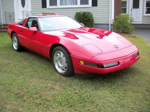 1991 Chevrolet Corvette for sale at MATTESON MOTORS in Raynham MA