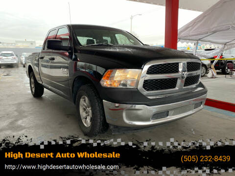 2013 RAM Ram Pickup 1500 for sale at High Desert Auto Wholesale in Albuquerque NM
