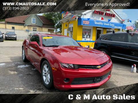 2014 Chevrolet Camaro for sale at C & M Auto Sales in Detroit MI