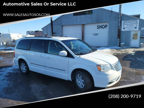 2011 Chrysler Town and Country for sale at Automotive Sales Or Service LLC in Rexburg ID