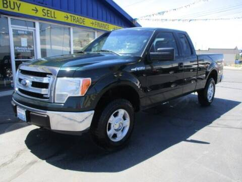 2013 Ford F-150 for sale at Affordable Auto Rental & Sales in Spokane Valley WA