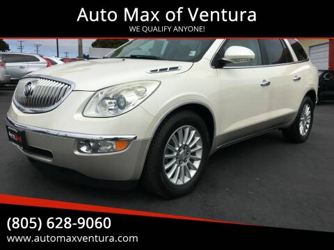2011 Buick Enclave for sale at Auto Max of Ventura in Ventura CA