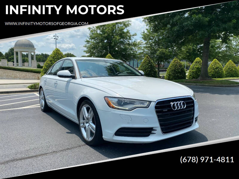 2014 Audi A6 for sale at INFINITY MOTORS in Gainesville GA