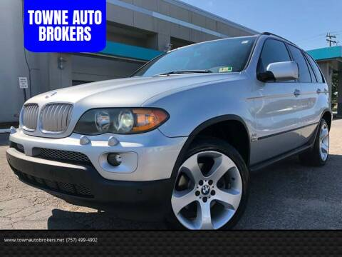 2004 BMW X5 for sale at TOWNE AUTO BROKERS in Virginia Beach VA
