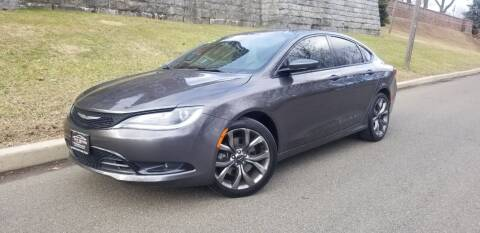 2015 Chrysler 200 for sale at ENVY MOTORS LLC in Paterson NJ