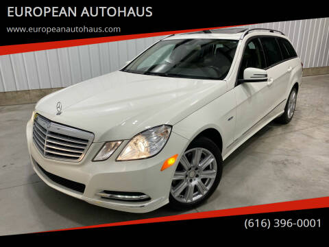 2012 Mercedes-Benz E-Class for sale at EUROPEAN AUTOHAUS in Holland MI