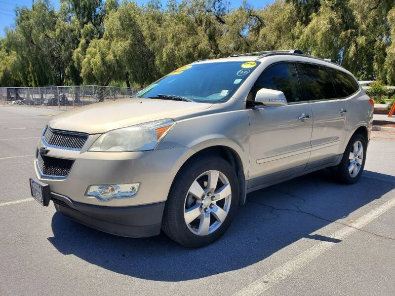 2012 Chevrolet Traverse for sale at ALL CREDIT AUTO SALES in San Jose CA