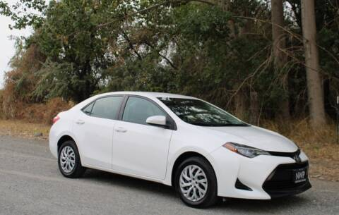 2017 Toyota Corolla for sale at Northwest Premier Auto Sales in West Richland WA